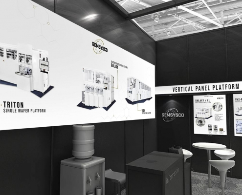 Semsysco Messedesign Semicon 2019