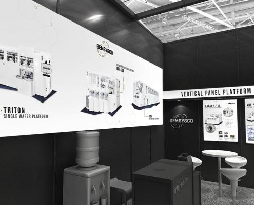 Semsysco Messedesign Semicon 2019